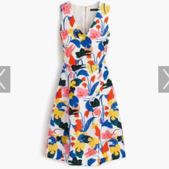 J. Crew Dresses & Skirts - J Crew A Line Dress in Morning Floral